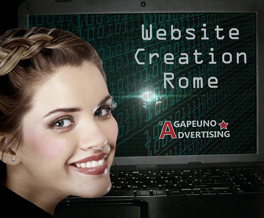 website creation Rome